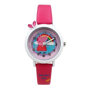 Picture of Cute Peppa Pig Cartoon Belt Watch for Girls