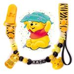 Picture of Baby Pacifier Anti-Chain Clips Beaded Soother