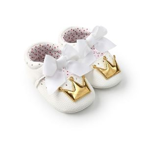 Picture of Crown Baby Infant Soft Sole Prewalker Shoes
