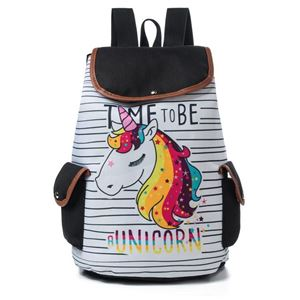 Picture of Fashion Cartoon Unicorn Drawstring Backpack For Girl