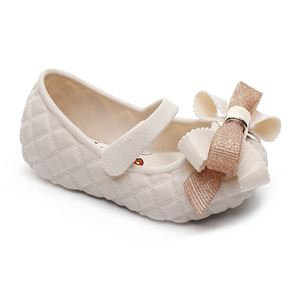 Picture of Fashionable Girl Ribbon Lattice Jelly Shoes