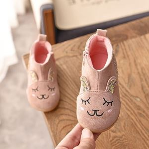 Picture of Fashionable Cute Kitten Cartoon Girl Shoes