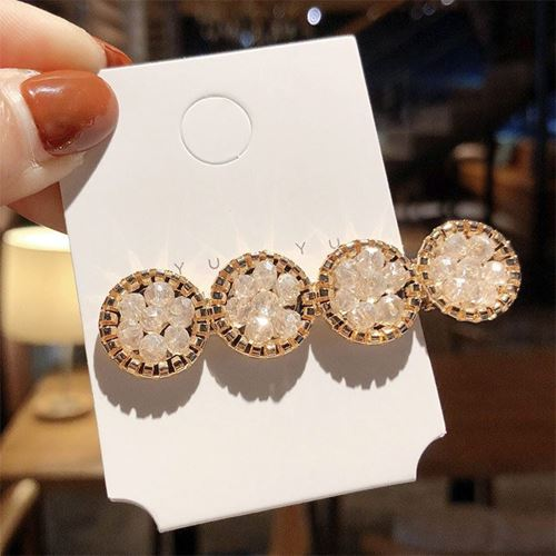 Picture of Korea Trendy Stylist Crystal Hair Clip Accessories
