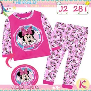 Picture of 2-Piece Minnie Printed LongSleeve Casual Wear Clothing Set(3-7y)