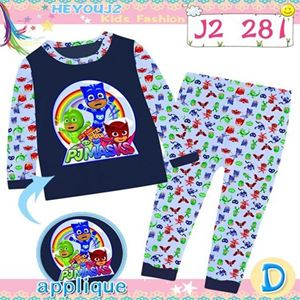 Picture of 2-Piece Pjmasks Printed LongSleeve Casual Wear Clothing Set(8-12y)